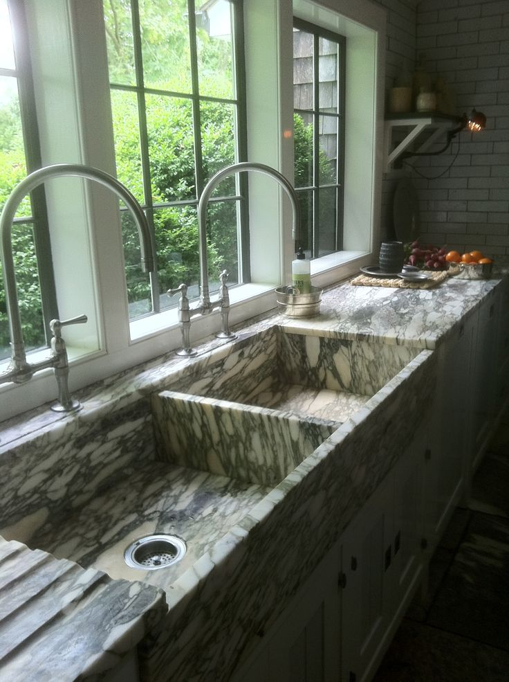 love the sinks. The possibilities with this amazing stone are endless