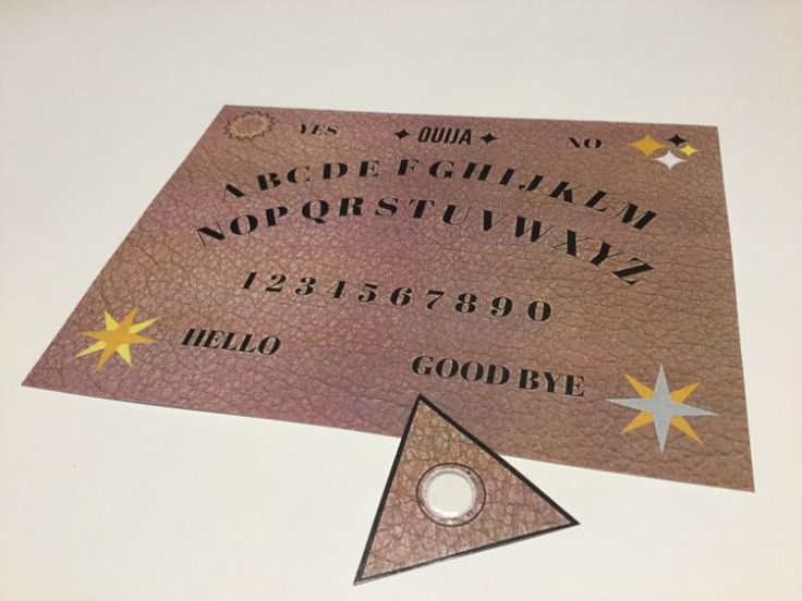 Ouija Board by RJparkavenue on Etsy