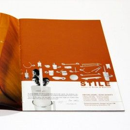 STILE BROCHURE #design #support #marketing #graphic #ErvasBasilicoGirardi #brochure