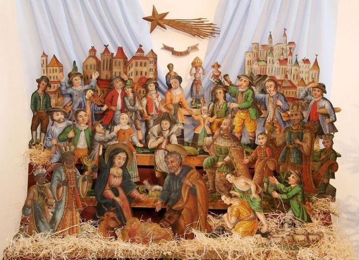 Czech paper Nativity