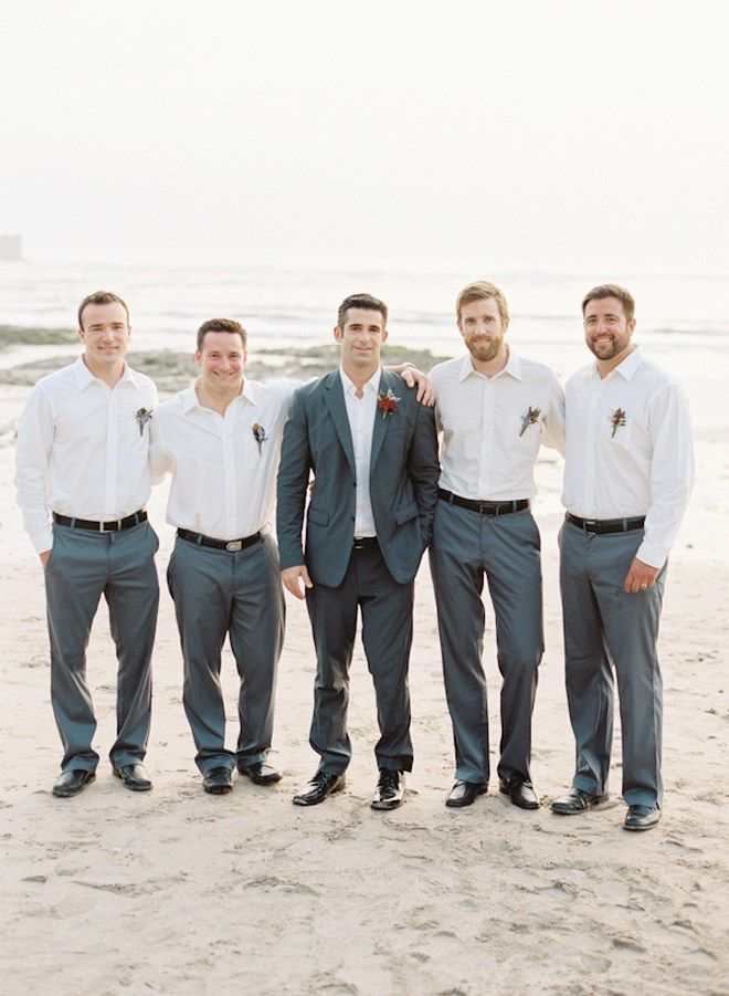 Beach Wedding Groom Attire Ideas 8 Wedding Groomsmen Attire
