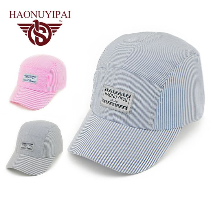 Fashion Casual Children Caps Cotton Adjustable Boys Girls Caps and Hats Kids Bone Snapback Hat Cute Summer Sun Baseball Caps