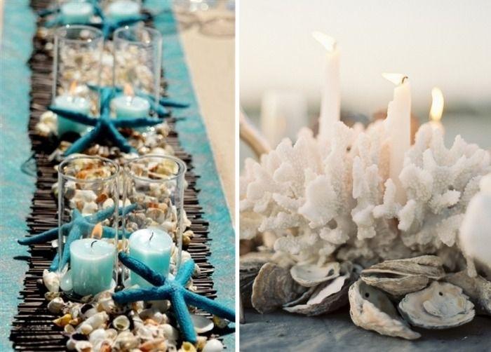 korallen muscheln deko artikel aus der natur nautische hochzeitsdeko sommer pinterest. Black Bedroom Furniture Sets. Home Design Ideas