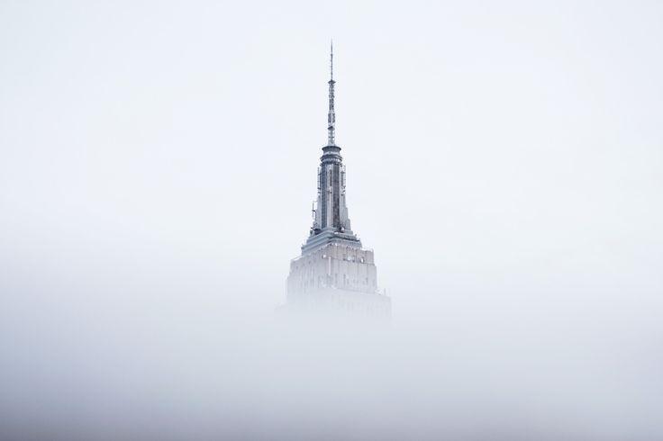 + une flèche dans le brouillard +