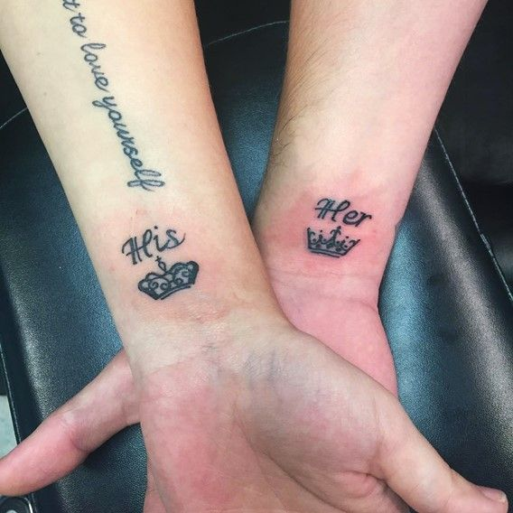 The 25+ Best Ideas About His And Hers Tattoo On Pinterest