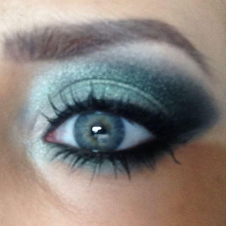 Make up. Eye make up