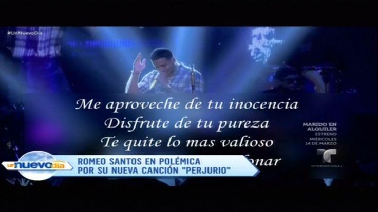"""La Canción """"Perjurio"""" De Romeo Santos Ha Generado Polémica Por Su Letra"""