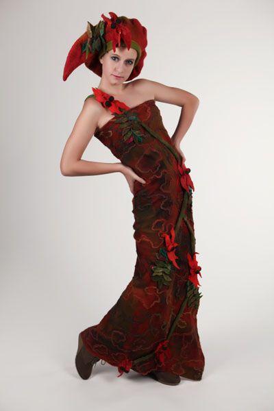 Lorraine McArthur, The Blood Flower 4 . Photographer Michael Kelly, Star Creations