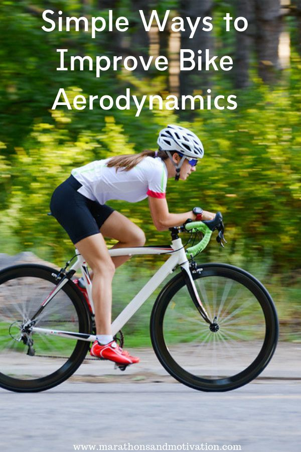 Simple Ways To Improve Bike Aerodynamics Cycling Equipment Bike Helmet Body Position And Aero Bars Can Be Inex Bike Reviews Ironman Triathlon Training Bike