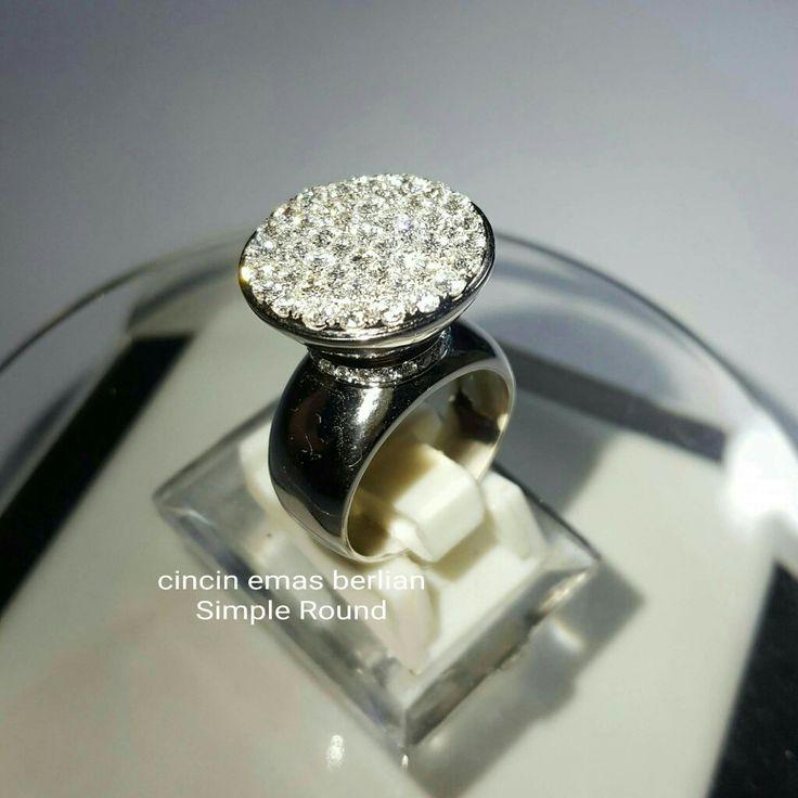 New Arrival🗼. Cincin Emas Berlian Simple Round View💎💍.   🏪Toko Perhiasan Emas Berlian-Ammad 📲+6282113309088/5C50359F Cp.Antrika👩.  https://m.facebook.com/home.php #investasi#diomond#gold#beauty#fashion#elegant#musthave#tokoperhiasanemasberlian