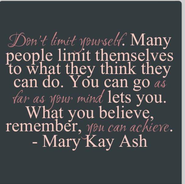 Mary kay Ash ...