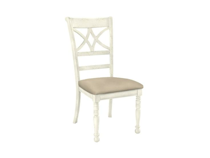 Side Chair w/Upholstered Seat Custom Dining Side Chair w/Upholstered ...
