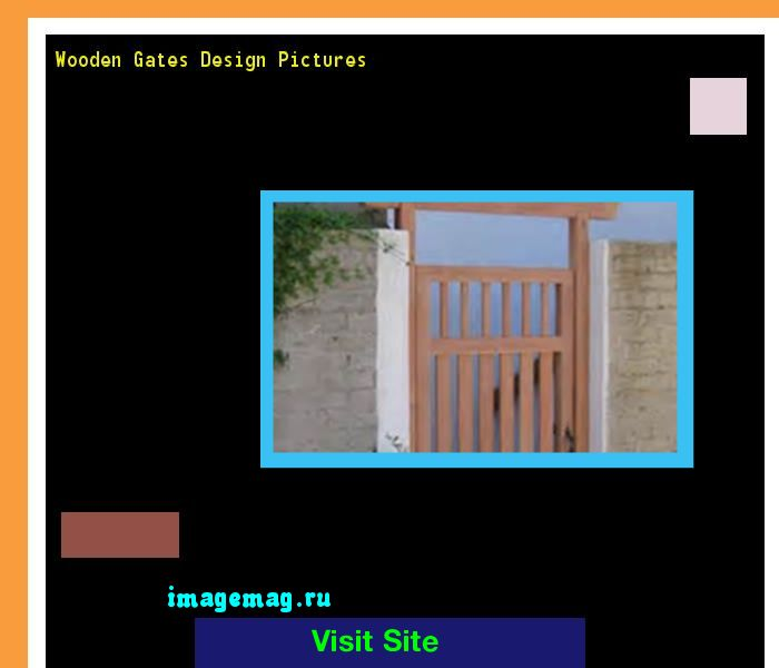Wooden Gates Design Pictures 194029 - The Best Image Search