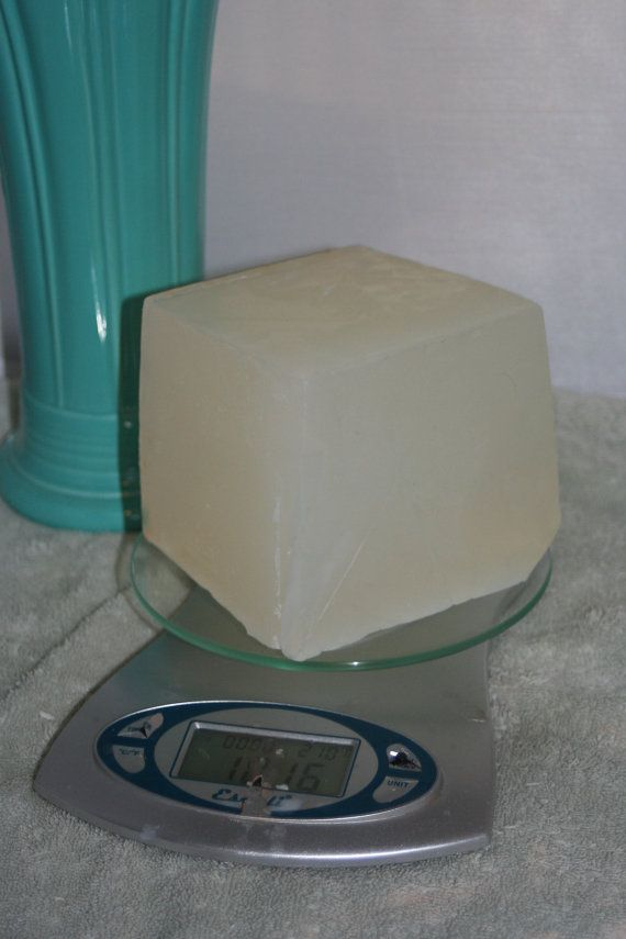 1 lb of Natural Detergent Free Melt & Pour Glycerin by DirtyStash, $6.00