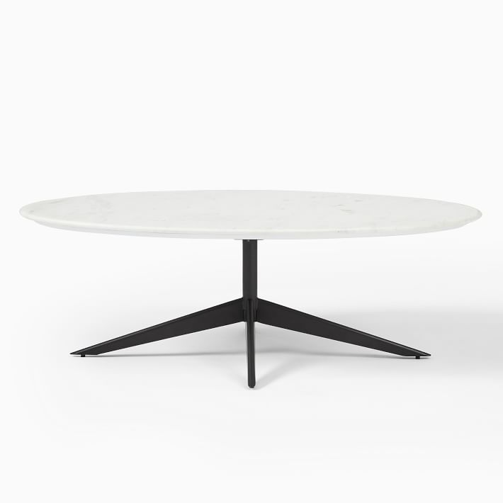Marlow Oval Coffee Table In 2020 Coffee Table Oval Coffee