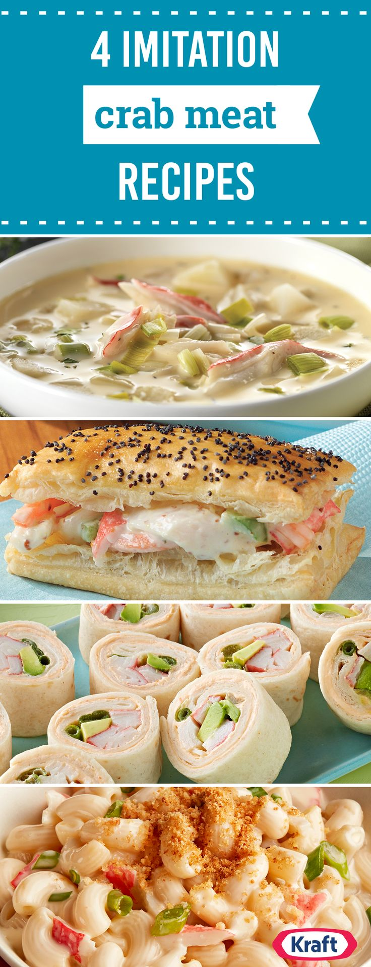2013 best quick and easy dinners images on pinterest asian food 4 imitation crab meat recipes they say imitation is the best form of flattery thats why our imitation crab meat recipes will make your next appetizer forumfinder Images