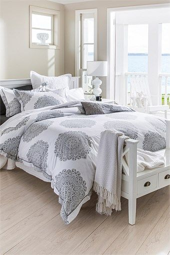 Bed Linen & Bedding Sets | Bedroom Decor Online - Medallion duvet set - EziBuy New Zealand