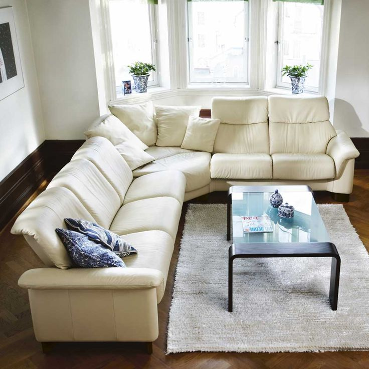 20 Best Collection Of White Leather Corner Sofa: 113 Best Images About Stressless® On Pinterest