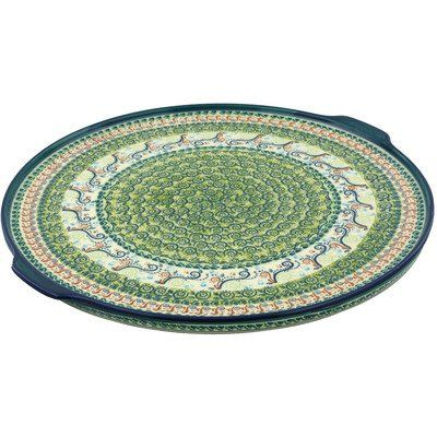 Polish Pottery Pizza Plate 17-inch >>> Don't get left behind, see this great  product : Pizza Pans and Stones