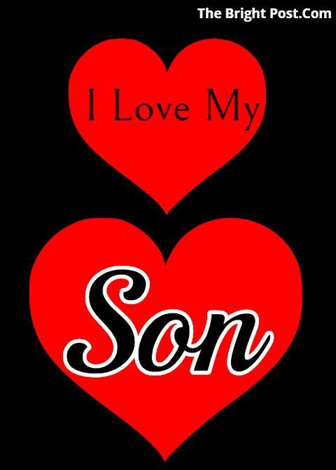 I Love Son Wallpaper status   I Love My Son Status   I love