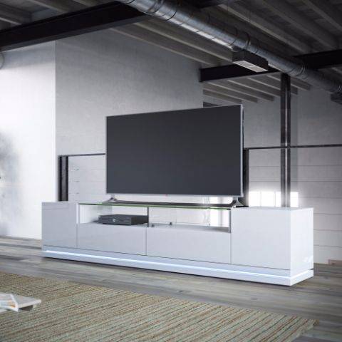 Vanderbilt TV Stand With LED Lights