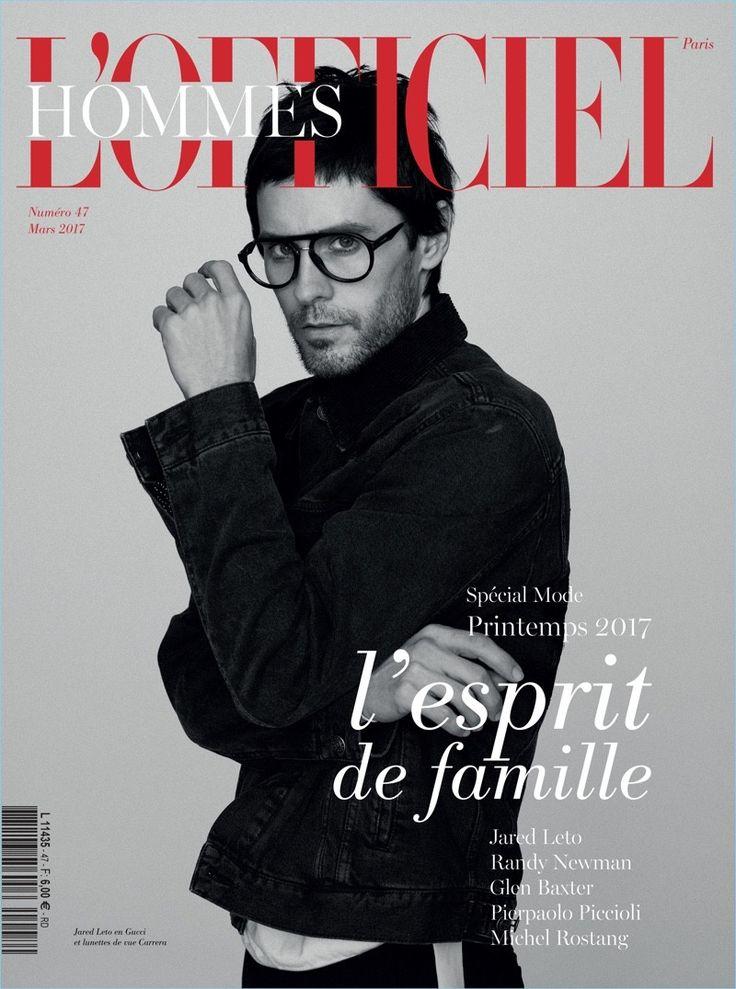 Dos portadas de Jared Leto para L'Officiel Hommes Paris