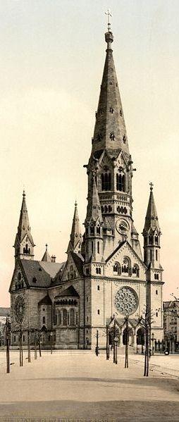 Berlin - Kaiser Wilhelm Gedächtnis Kirche