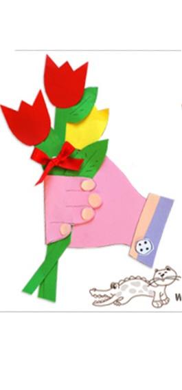 ✰✰PLANETA ATIVIDADES✰✰: Linda lembrança para o dia das mães e fácil de fazer!