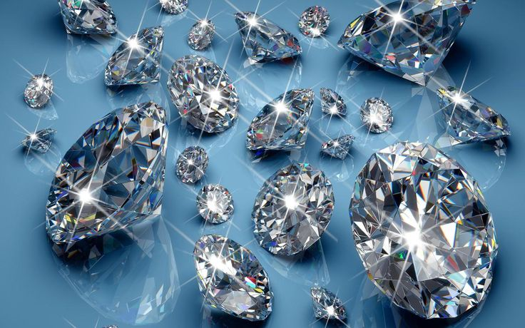 Diamonds are forever and also a girls best friend