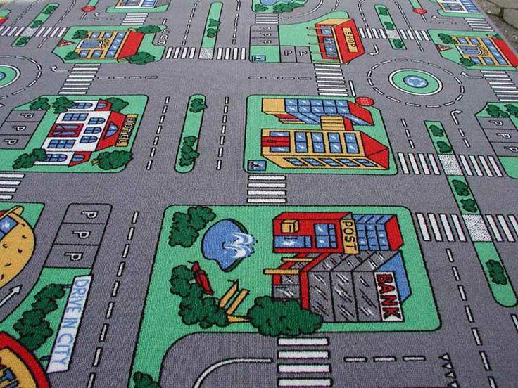 Straßen Spielteppich