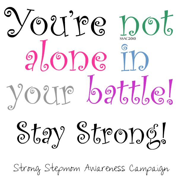 You Re Not In This Alone What Columbine: You're Not Alone! Stay Strong!