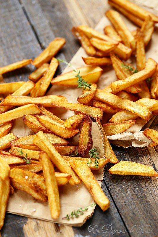 Un dejeuner de soleil: Frites maison : recette et trois astuces pour les ...