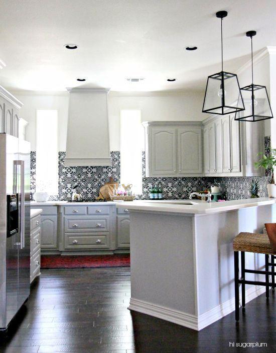 Beautiful Kitchen Backsplash On One Wall H For Design Inspiration