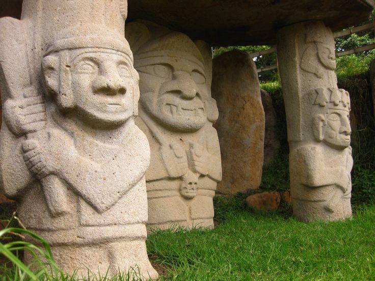 San Agustín Archaeological Park. It is an UNESCO World Heritage Site. The park…