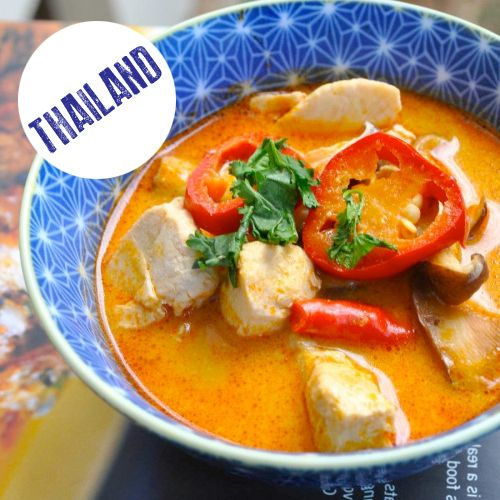 Thai Lemongrass and Coconut Soup