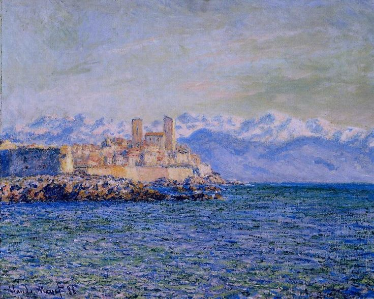 The Old Fort at Antibes - Claude Monet - WikiArt.org
