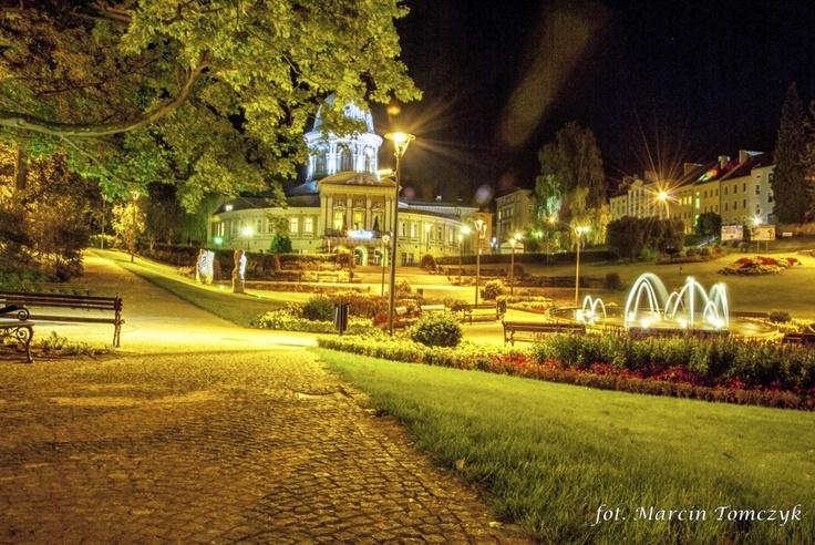Park zdrojowy, fontanna, Zdrój-Wojciech (fot. M. Tomczyk)
