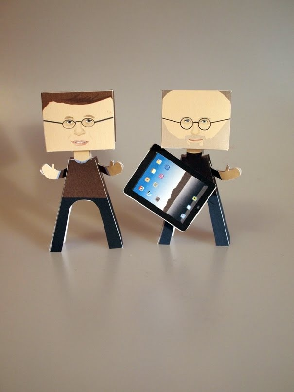 Reflections of steve jobs and bill