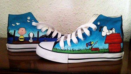 Snoopy Converse                                                                                                                                                                                 Más