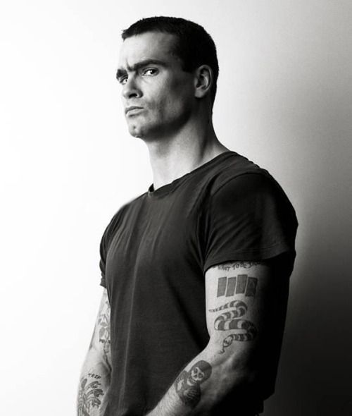 Henry Rollins; love this guy.