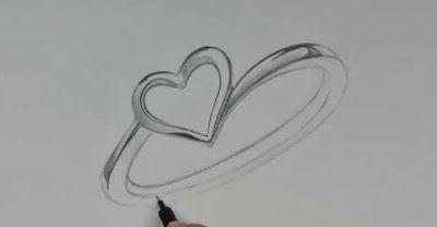 تعلم رسم خاتم فضي خطوة بخطوة مدونة أرسم بالرصاص Blog Drawings Blog Posts