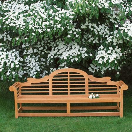 Lutyens Bench - Teak Lutyens Benches Inspired by Sir Edward Lutyens - Country Casual