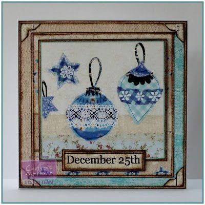 Pauline Bird, Romany Christmas CD, Toppers Design 8 #crafterscompanion #Christmas