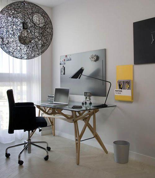 O escritório, seja em casa ou não, é um lugar aonde passamos grande parte do nosso dia. Por isso, é fundamental que o espaço contemple os pilares da ergonomia. Ou seja, um espaço adequado a sua realidade de trabalho tendo em vista ganhos de produtividade através do conforto. http://www.incasamia.com.br/?p=1069