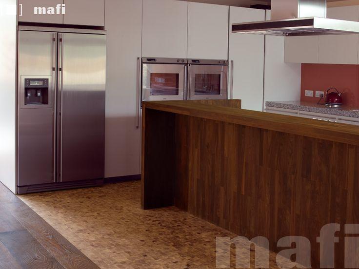 Domino Larch Vulcano | Sanded Natural Oil | Kitchens | MAFI
