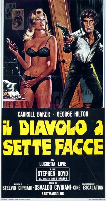 The Devil with Seven Faces (1971; Osvaldo Civirani)