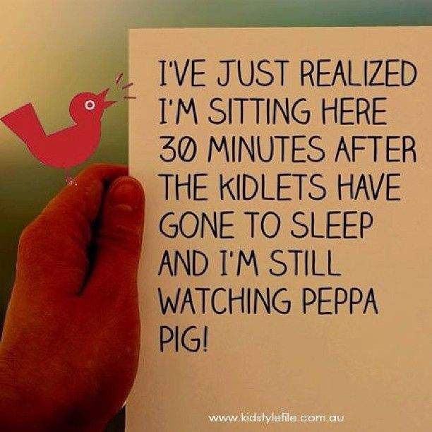 Are you guilty? Peppa Pig is the bomb! Photo by kidstylefile