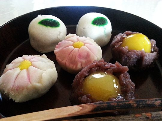 Wagashi Mikuraya Kyoto,Japan 京都市北区紫竹 御倉屋 (みくらや)の和菓子