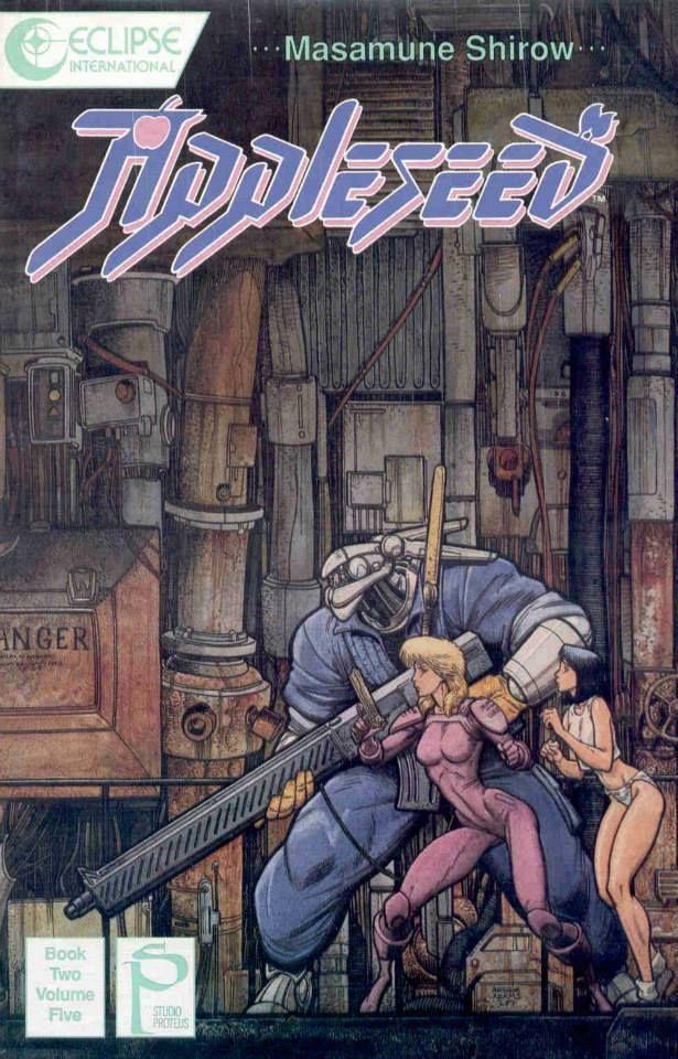 Art Vault Appleseed Covers Deunan And Briareos By Arthur Masamune Shirow Comic Books Art Science Fiction Art