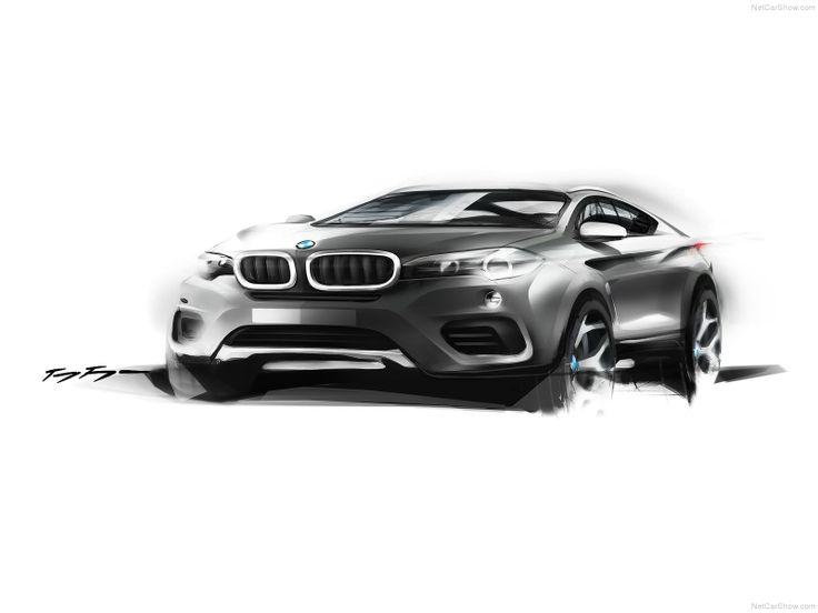 BMW X6 | Exterior Sketch